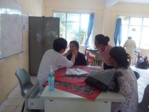 Poto pemeriksaan kesehatan anak