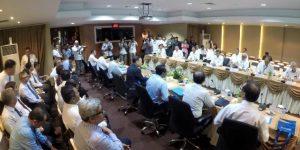 Poto Pertemuan Pejabat BP Batam dengan Gubernur Bank Indonesia (dok)