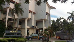 Poto : Sejulah Armada Pamungkas yang diturunkan Polresta Barelang pada pengawalan demo di BP Batam