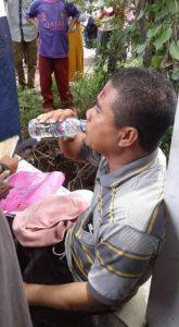 Poto : Pengemudi MObil Boks Ansari (dok)