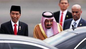 Poto : Presiden Jokowi - Raja Salman (kompas)