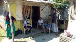 Poto Maryam janda tua yang hidup dibawah garis kemiskinan di Kabupaten Sampang