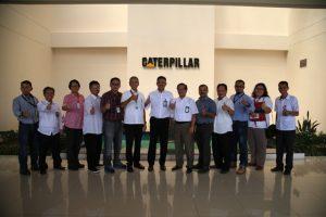 Kepala BP Batam Hartanto Reksodiputro bersama pimpinana Caterpilar Batam