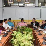 Bupati Pimpin Rapat Pengamanan Menjelang Hari Raya Idul Fitri 1438H