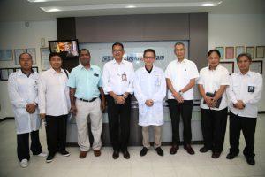 Pejabat BP Batam dengan Pimpinan Perusahaan Elektronik.