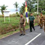 Wakil Bupati Bintan Tinjau Persiapan Pembukaan TMMD Ke- 99