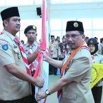 PELANTIKAN PENGURUS MABICAB DAN KWARCAB GERAKAN PRAMUKA Kabupaten Bintan MASA BHAKTI 2017-2022
