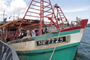 Kapal Ikan Asing Tangkapan Polda Kepri