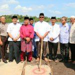 Bupati Bintan Resmikan Pembangunan Jembatan Desa Pengujan