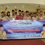 Dalmasri Lepas Kontingen Raimuna Nasional Kwarcab Bintan