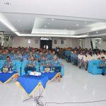 Prajurit dan ASN  Lantamal  IV terima  Sosialisasi BNN KEPRI P4GN