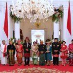 Mantan Presiden Kompak Hadir di Istana Negara