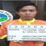 Muhammad Amin Bersama 42.382 Butir Pil Ektasi, diamankan Ditresnarkoba Polda Kepri