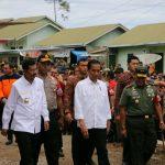 Keliling Sumatera, Presiden Joko Widodo sambangi Pengungsi Sinabung