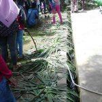 Usai Jalan Santai Bank Jatim, Taman Arek Lancor Penuh Sampah dan Tanaman Rusak