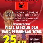 Turnamen Sepak Bola Fraksi PDI Perjuangan akan Digelar Lagi