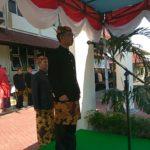 Pemkab Pamekasan Gelar Upacara Hari Jadi Ke 487, Peserta Mengenakan Pakaian Adat dan Batik