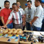 Petugas AVSEC Bandara SSQ II Pekanbaru Amankan 4 Orang Jaringan  Narkoba