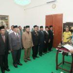 Bupati Lingga Lantik Delapan Pejabat Eselon II ke Posisi Jabatan Baru Termasuk Plt