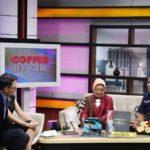 Bupati Bintan Bersama Deputi Bidang Pengembangan dan Pemasaran Pariwisata Paparkan Destinasi Wisata Bintan, Dalam Siaran Cofee Break TV One