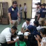 Antisipasi Keselamatan Berlayar Hadapi Natal Dan Tahun Baru, Polres Karimun Lakukan Tes Urine Nahkoda Dan ABK Kapal