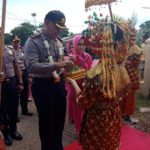 Kapolres Bersama  Ketua Bhayangkari Mura lakukan Kungker
