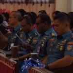 Sempena Hari Dharma Samudera tahun 2018, Prajurit Batalyon Marinir Pertahanan Pangkalan IV  Nasrani Gelar Doa Bersama di Gereja HKBP