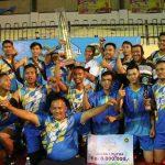 Tim Bola Volly ASG Bintan Juarai Turnamen Volley Danlantamal CUP 2018