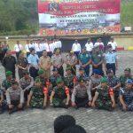 Kunjungan Kapolda Ke Mapolres Lingga, Pimpin Apel Gabungan TNI Polri