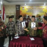 KPU Pamekasan Gelar Rapat Pleno Terbuka Pengundian Nomor Urut Paslon Pilkada 2018