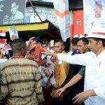 Presiden Meninjau Pelaksanaan Padat Karya Tunai Di Ambon