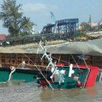 Tagboat Karam di Pelabuhan CPO Pertamina Kabil