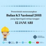 Menaker Canangkan Bulan Peringarigatan K3 2018