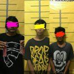 "Tiga Remaja Budak Narkoba Jenis Pil ""Doble L"" Mendekam di Sel Polres Pamekasan"