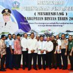 Bupati Bintan Apri Sujadi Buka Musrenbang 2018