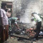 Diduga Akibat Konsleting, Rumah Warga Hangus Terbakar