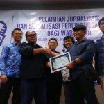 Ketum IWO Ajak Wartawan Pererat Persahabatan