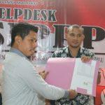 Maju DPD RI, Berkas Dukungan Elvis Lahallo Diterima KPU Maluku Ambon