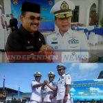 Serah terima Jabatan Komandan Lanal Di Mako Lanal Tanjung Balai Karimun