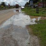 Jalan Lintas Sumatera Km 3 Langganan Banjir, Minta Pemerintah Tebo Serius Tangani
