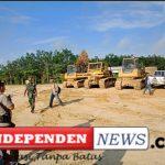 Kericuhan Sempat Terjadi saat PT LESTARI ASLI JAYA (LAJ) melakukan eksekusi lahan yang dikuasai Masyarakat