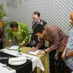 Bupati Anambas Abdul Haris Tanda Tangani MoU tentang CSR PT. SSU