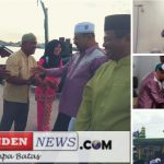 Safari Ramadhan, Bupati Karimun Serahkan Bantuan Masjid Jami'Baitul