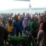 Kapal Motor Sinar Bulan Tenggelam di Danau Toba