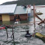 Dua Unit Rumah di Desa Ladan Korban Puting Beliung