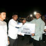 Desa Busung Juara 1 Festival Lampu Cangkok Kabupaten Bintan Tahun 2018