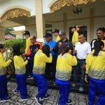 Wakil Bupati Karimun Lepas Kontingen POPDA
