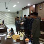 DPRD Anambas Gelar Rapat Paripurna istimewa Penyampaian Rancangan KUA dan PPAS