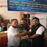 PLN Batam Serahkan Bantuan Bagi Warga Korban Kebakaran