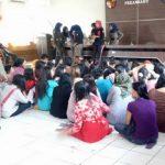 47 Orang Wanita Pekerja Panti Pijat diamankan Satpol PP Pekanbaru